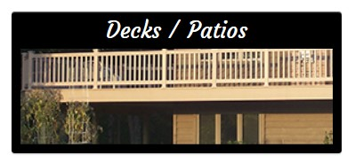 picture of decks and patios construction by Anderson Building & Restoration of Duluth Minnesota